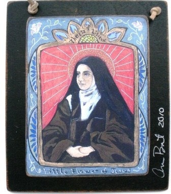 Saint Therese of Lisieux Retablo - Print