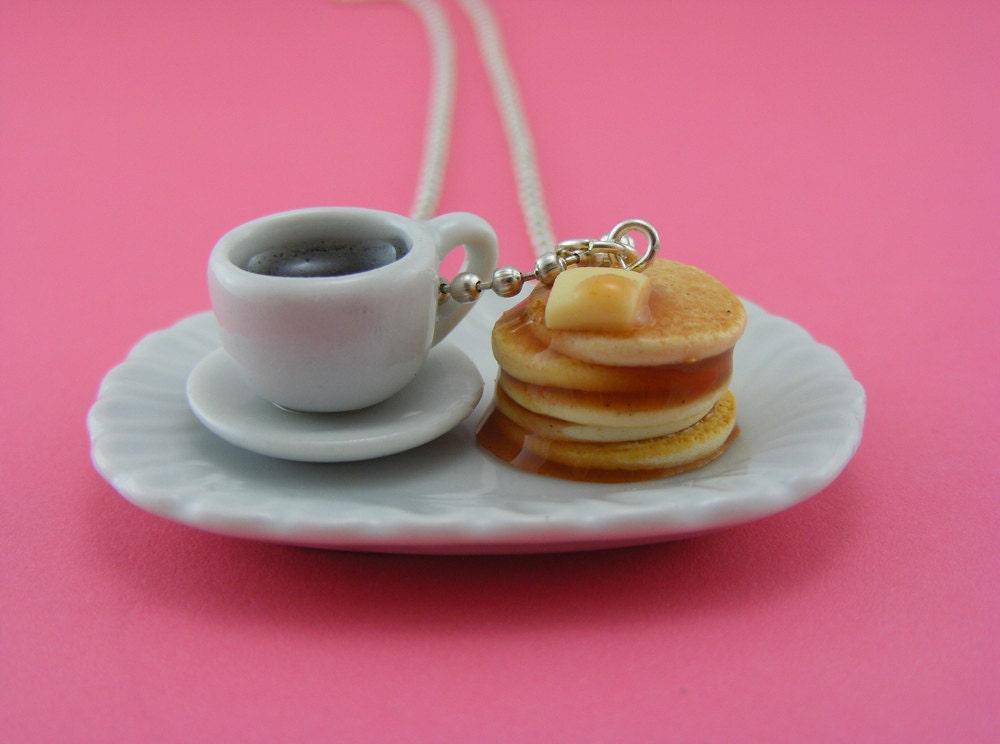 Кофе и Блины Ожерелье