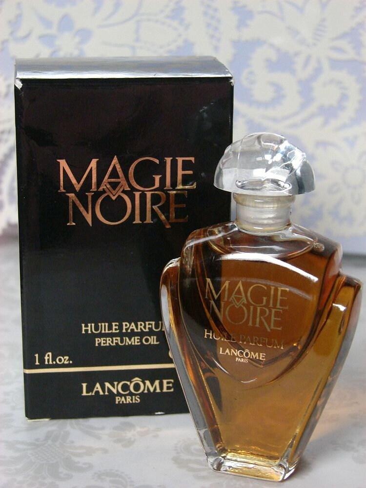 Vintage Lancome Magie Noire Parfum Huile By Chichiperfumes