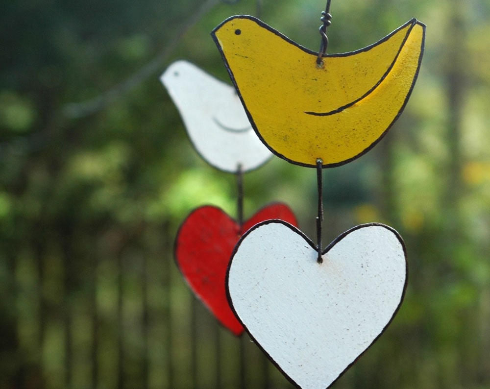 Love Bird Garden Ornament