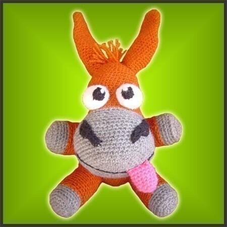 Looney Mule - Amigurumi Pattern