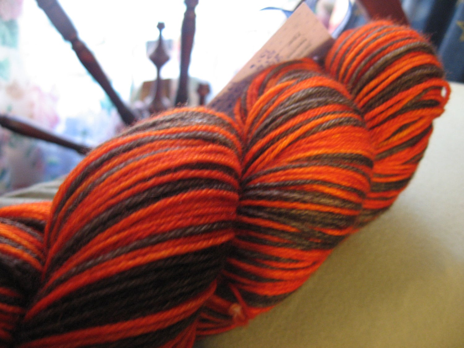 Pumpkin Nights -- MCN -- Fingering Weight -- Self Striping - HuggyBearKnits