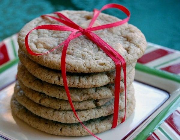 White Chocolate Chai Cookies