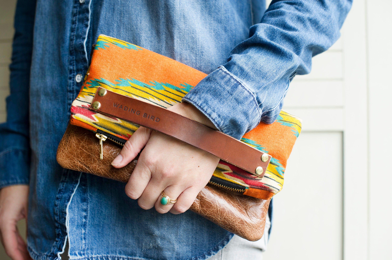 leather crossbody handbag handbag clutch bag clutch leather bag evening clutch crossbody bag aztec bag. boho handbag