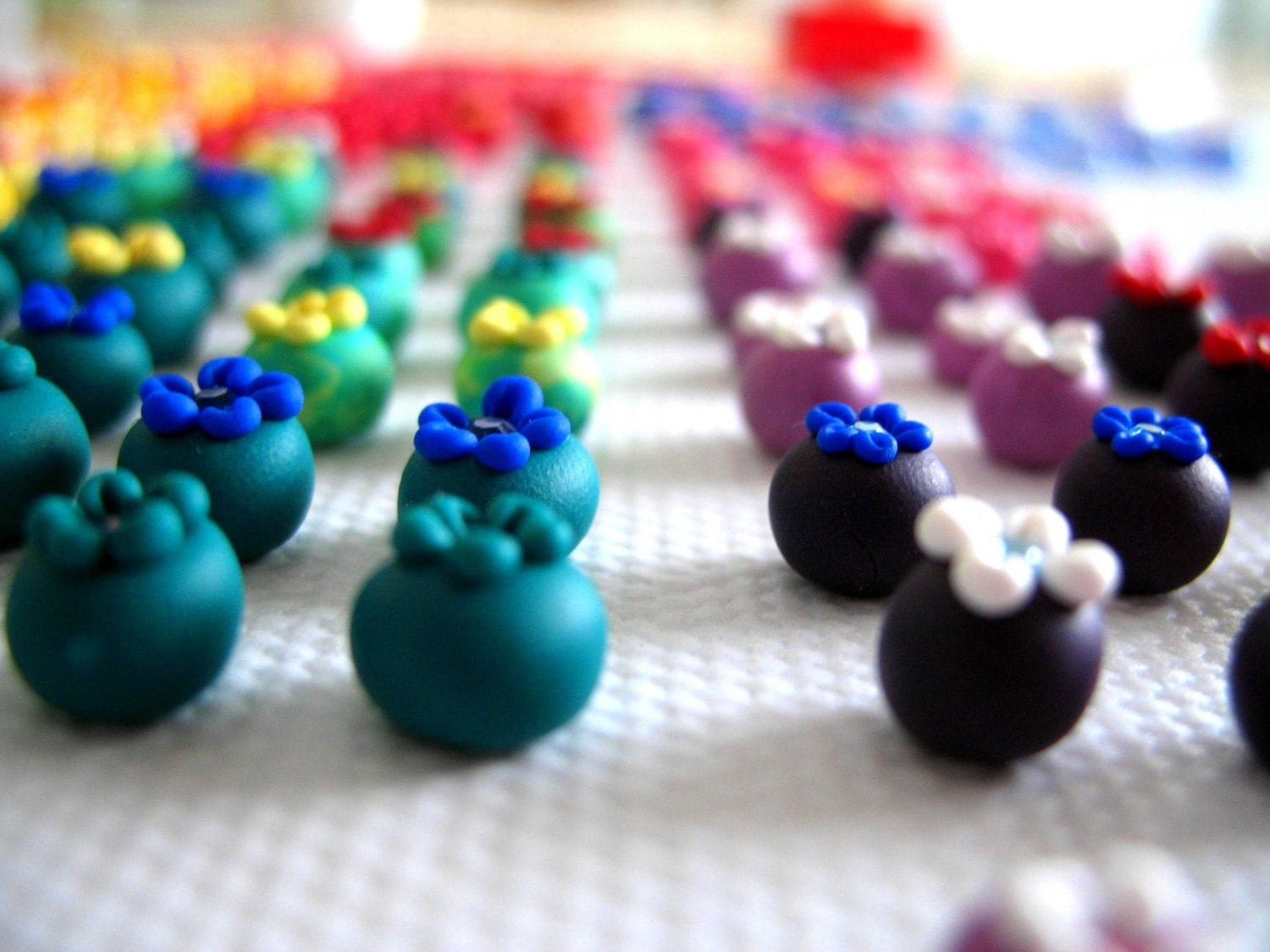 Berry Berry custom earrings