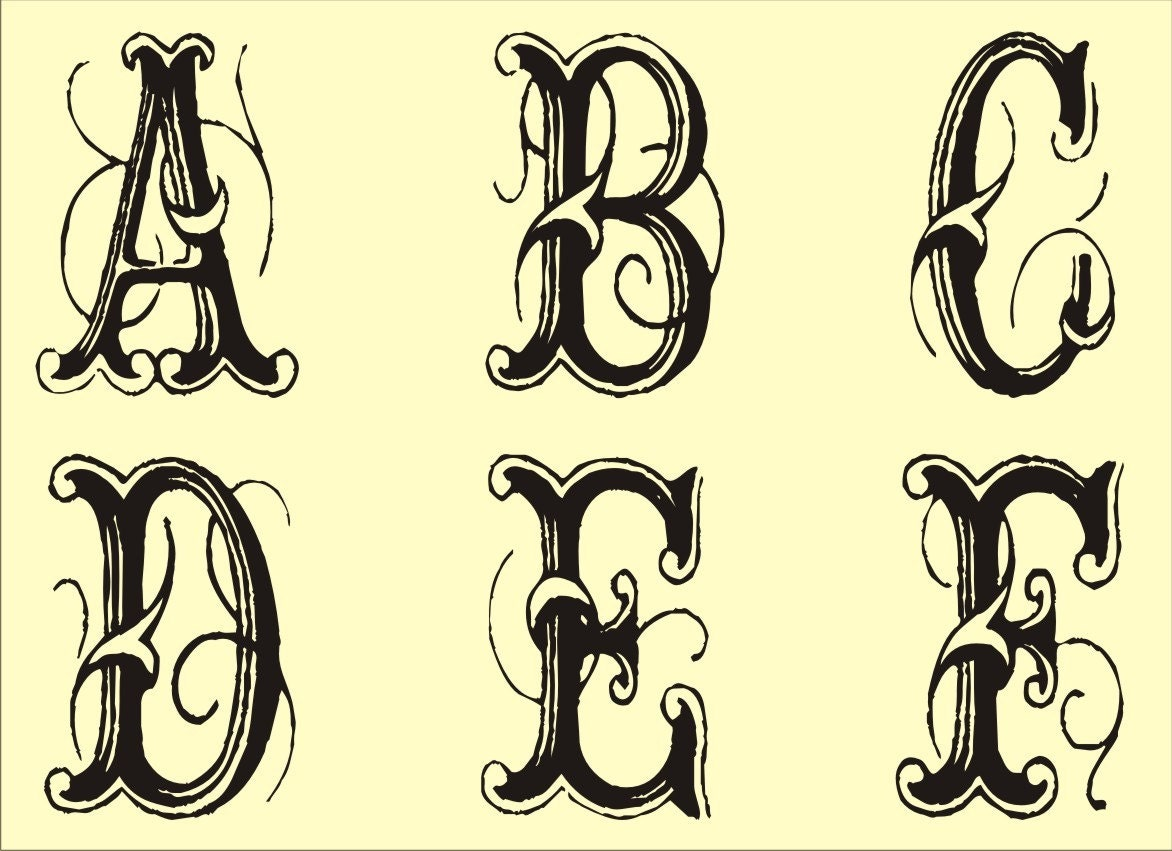 fancy lettering fonts. case Extra Fancy Font,