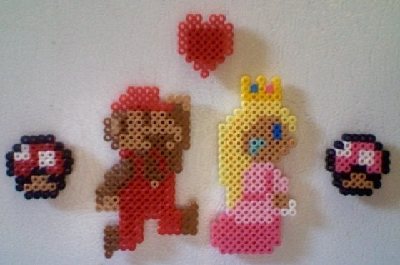princess peach and mario in love. appearance Princess
