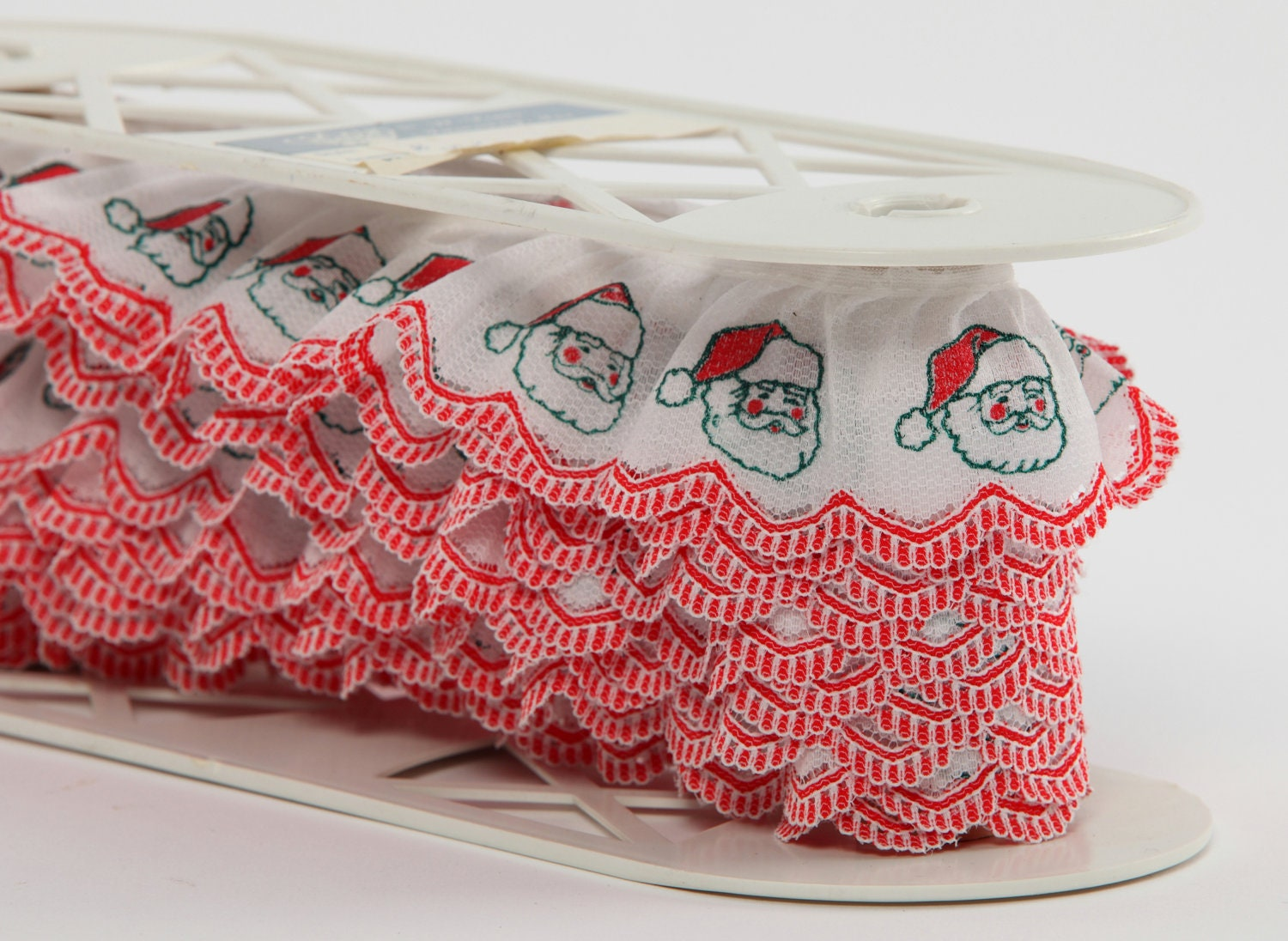 Items similar to vintage trim craft supply sewing notions for Vintage christmas craft supplies