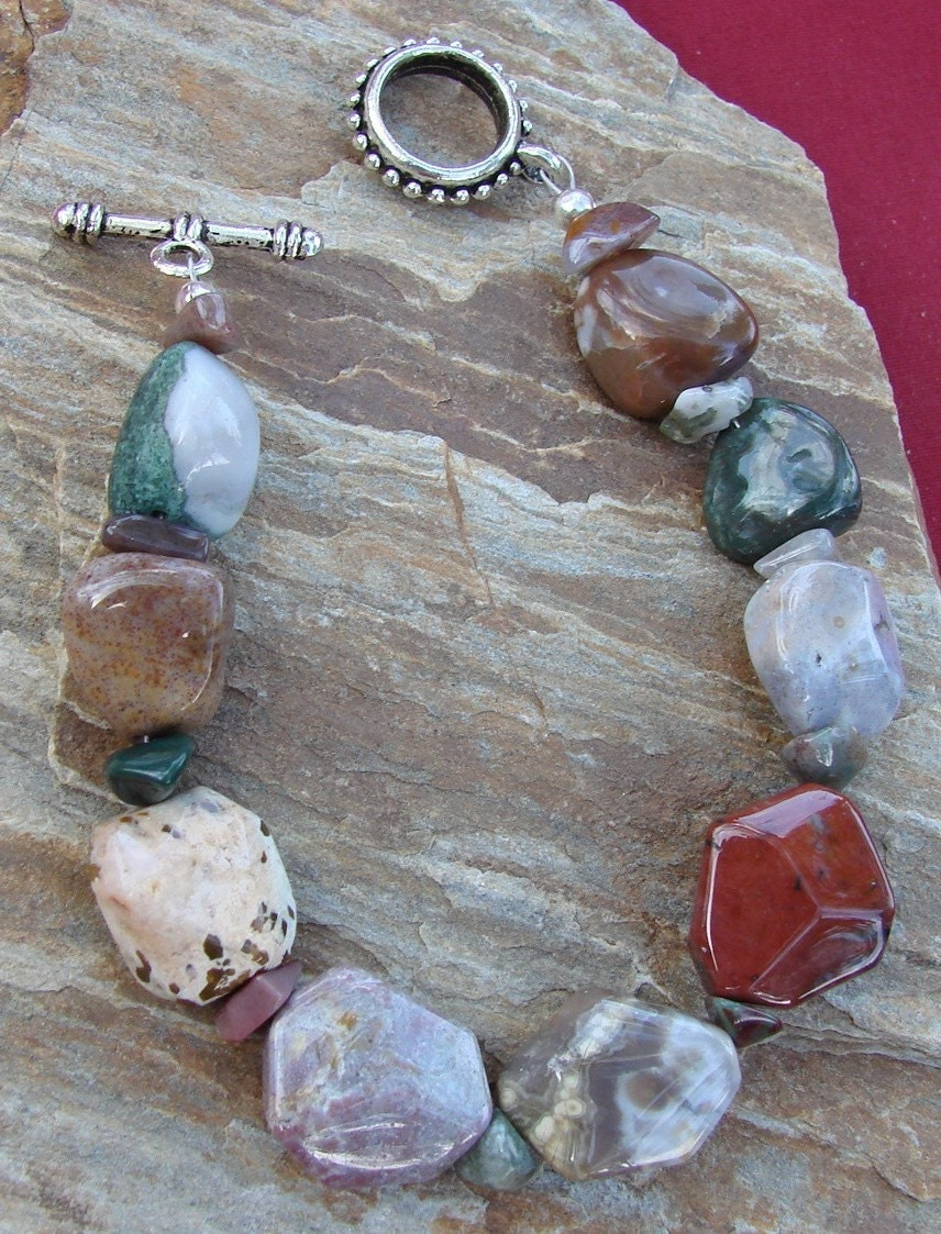 Fisheye Gemstone Bracelet