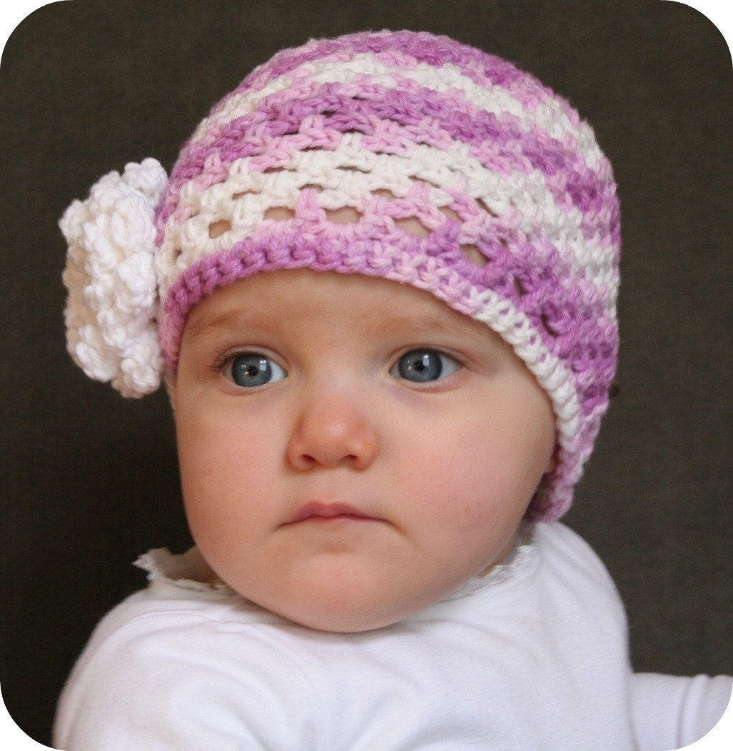 Crochet Cloche Hat Brim Pattern : Beanie Crochet Pattern Cloche HAT Easy Baby and by ...
