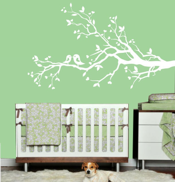 White Tree Wall Decals Cheap 26