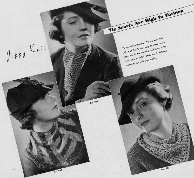 Scarves - Crochet Patterns - Cross Stitch, Needlepoint, Rubber