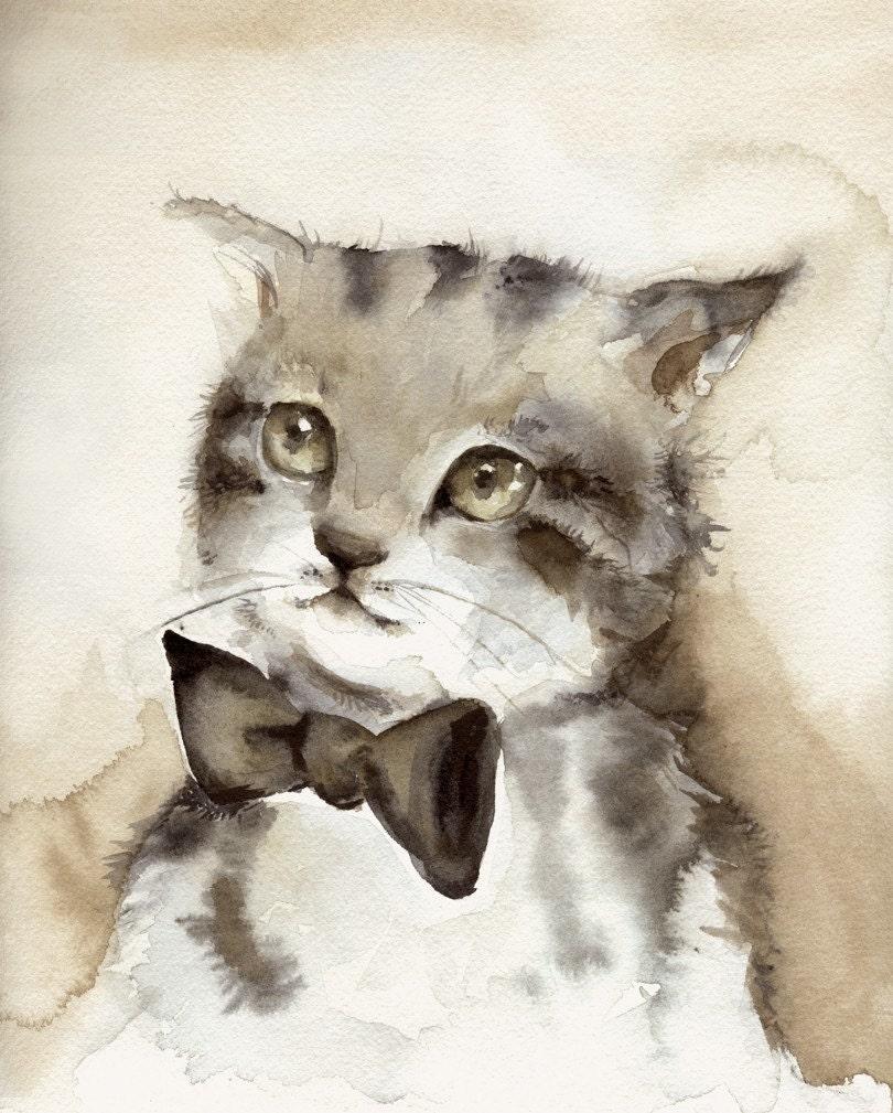 Dreamer Print of Watercolor