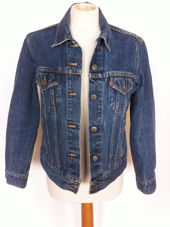 Vintage Women's Levi's Denim Jean Jacket by GoldDustVintageShop