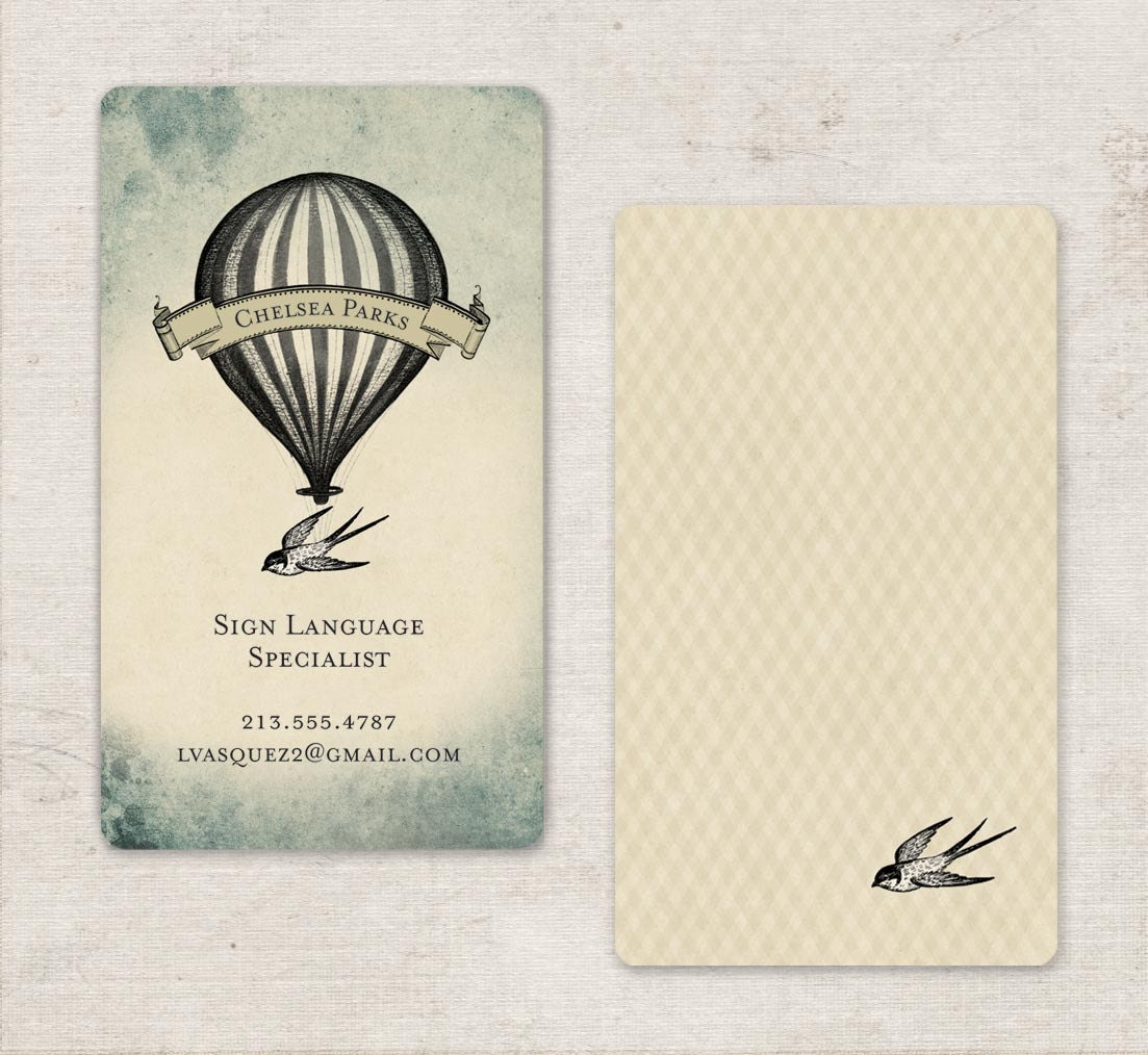 Calling Cards Business Cards Etsy Store cards 250 by GoGoSnap