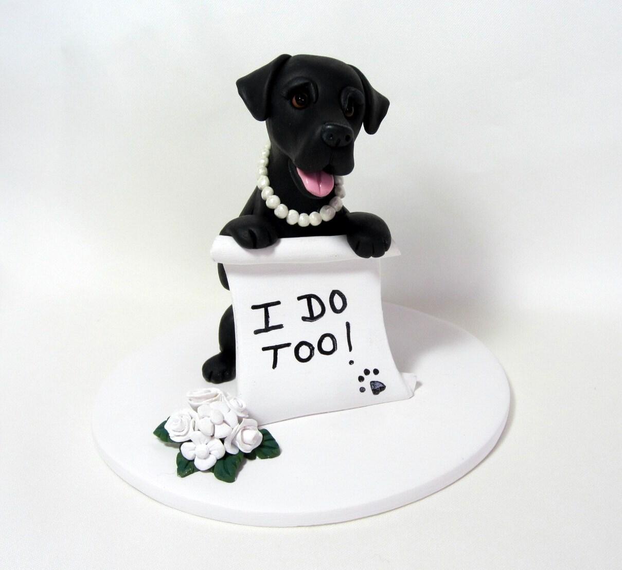 Items similar to Custom Made Single Dog Wedding Cake