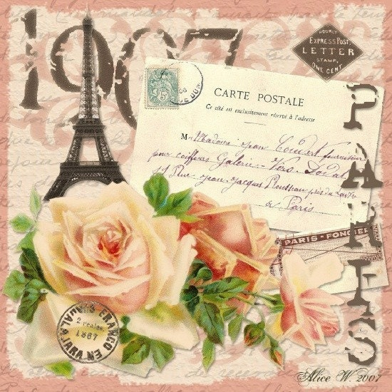 Vintage Paris Mixed
