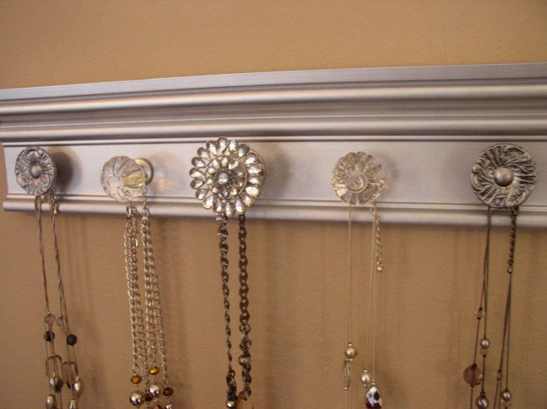 Stunning metallic jewelry organizer This necklace