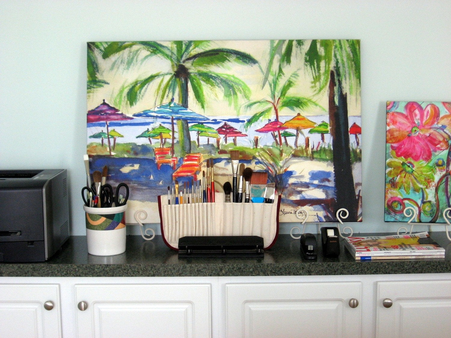 Giclee on Canvas, Caribbean Time