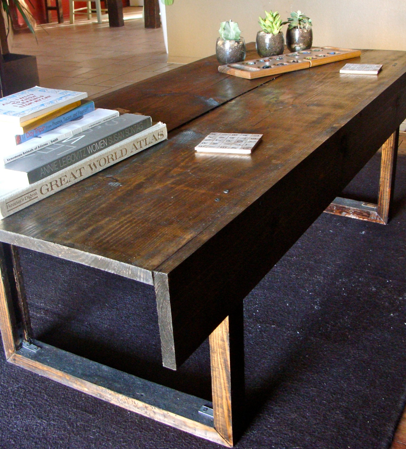 Handmade Rustic Coffee Table By Nidification On Etsy
