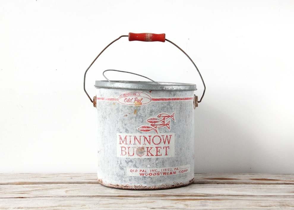 Large Old Pal Minnow Bucket - GallivantingGirls