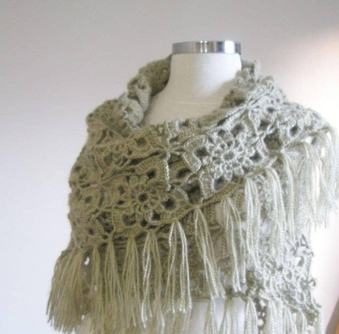 Knitting Crochet Bridal Wedding by crochetbutterfly on Etsy
