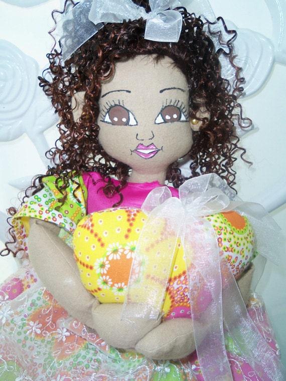 OOAK Cloth Handmade Doll