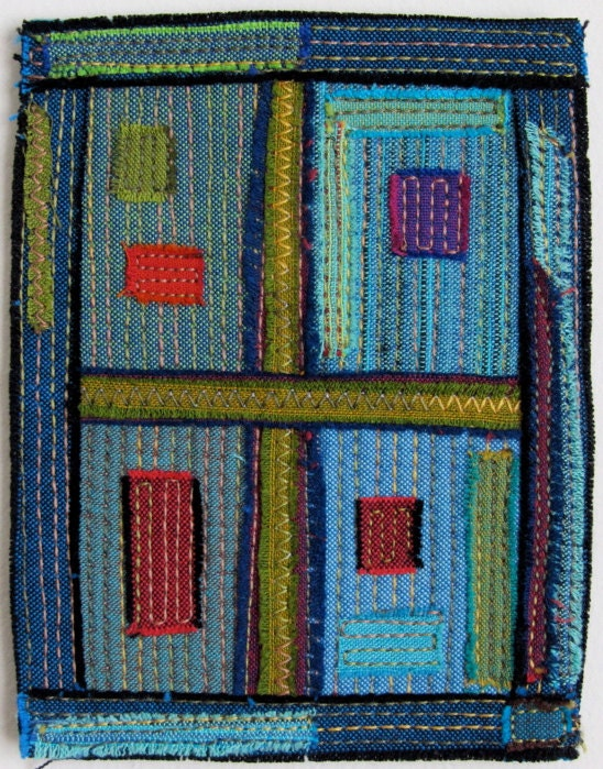 Old Window - Small Stitched Work