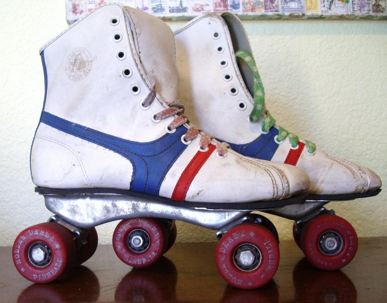 Vintage Roller Derby Fireball Skates- Kids 6