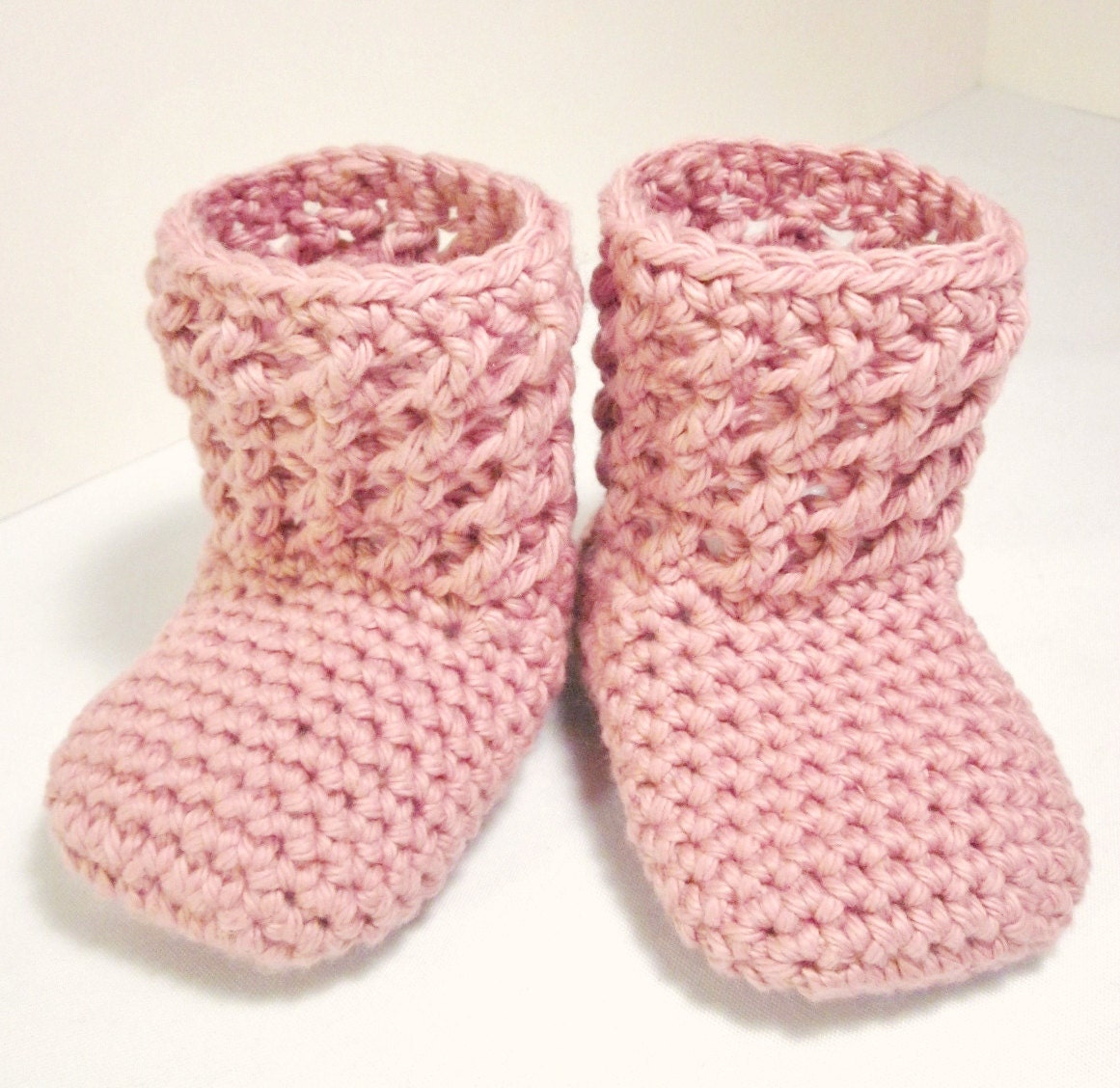 Crochet Pattern PDF Textured Booties Sizes by injenuity on ...