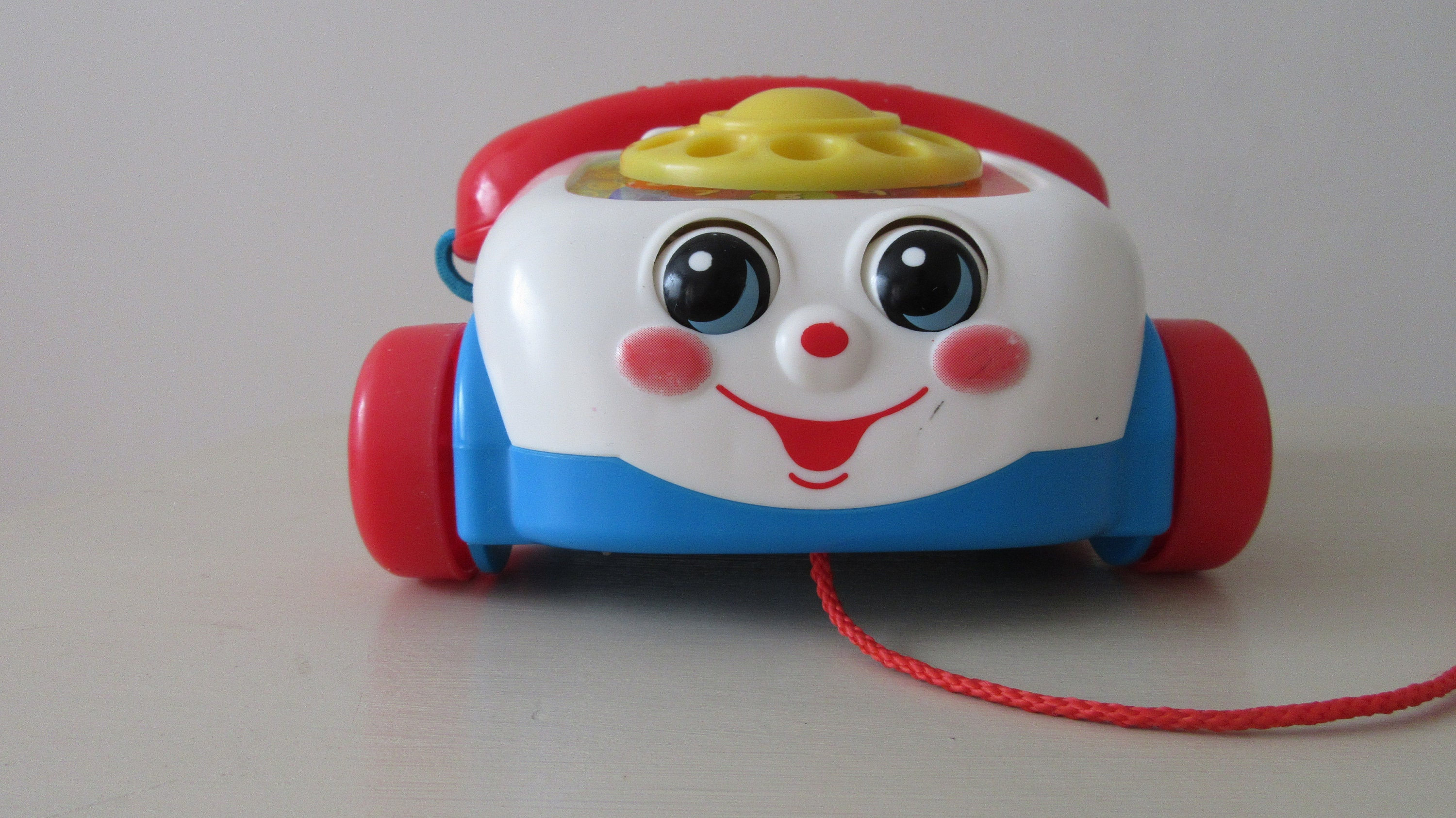 Vintage Fisher Price Toys. Vintage Fisher Price Pull Along Telephone. Vintage Toys. Vintage Fisher Price.Toddler Gift. Baby Gift. Birthday