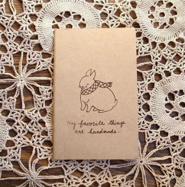 Scarf Bunny Journal