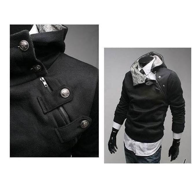طراحی سیاه و سفید ژاکت دستباف
