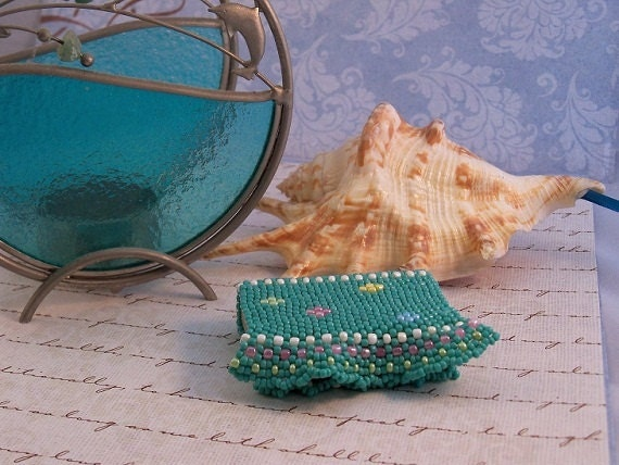 Beaded Matchbox in Disguise, Decorative, Functional, Custom Orders Available, or as a Sewing Kit
