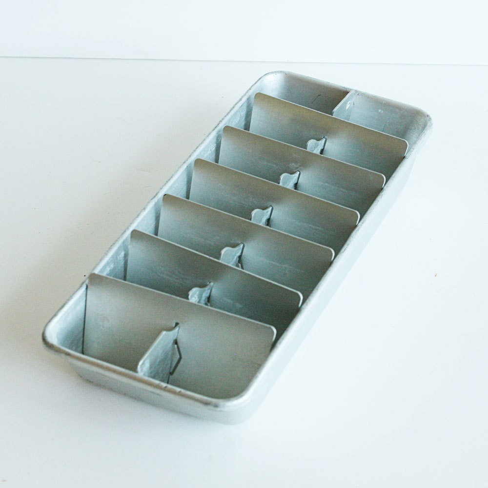 items similar to vintage ice cube tray aluminum great for decorating organizing divider on. Black Bedroom Furniture Sets. Home Design Ideas