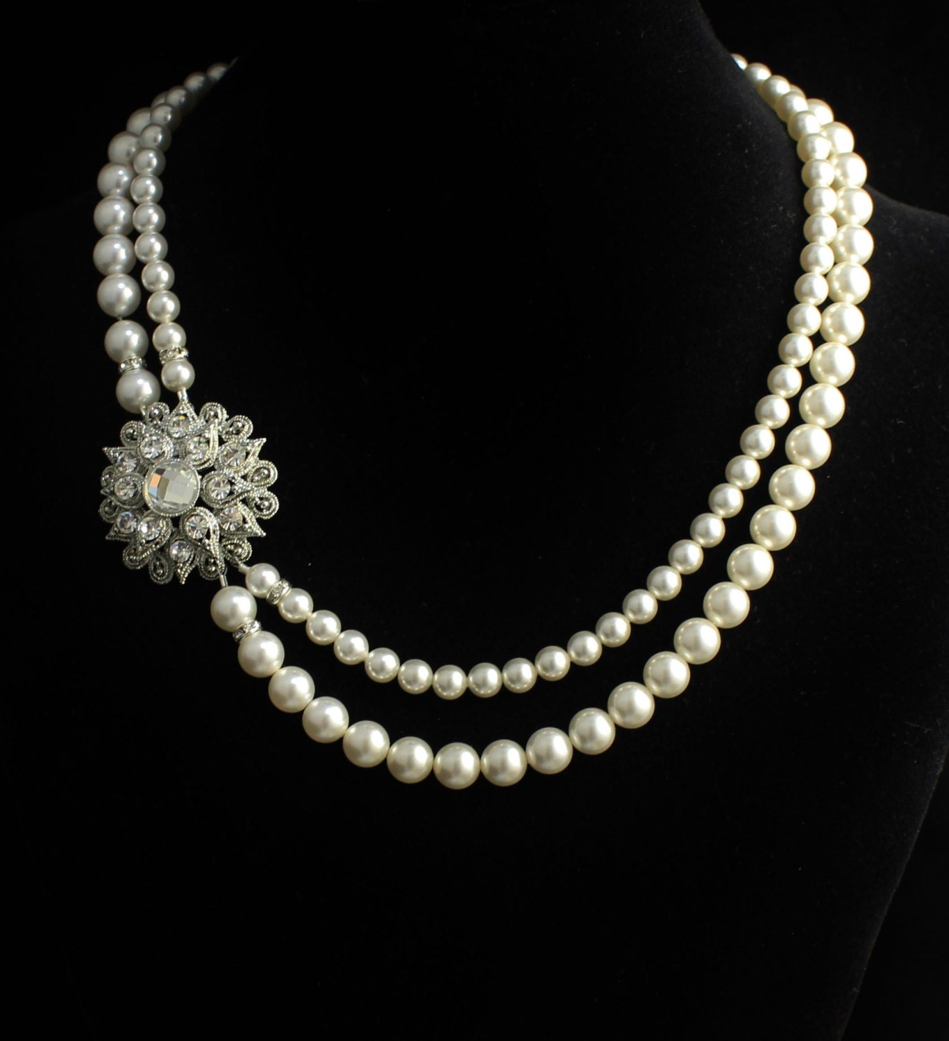 Indiangoldesigns Com Beautiful Antique Bridal Necklace: Items Similar To Custom Bridal Order For Brittany R On Etsy