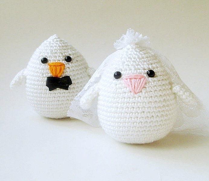 Свадебные пары Жених и Невеста Птицы