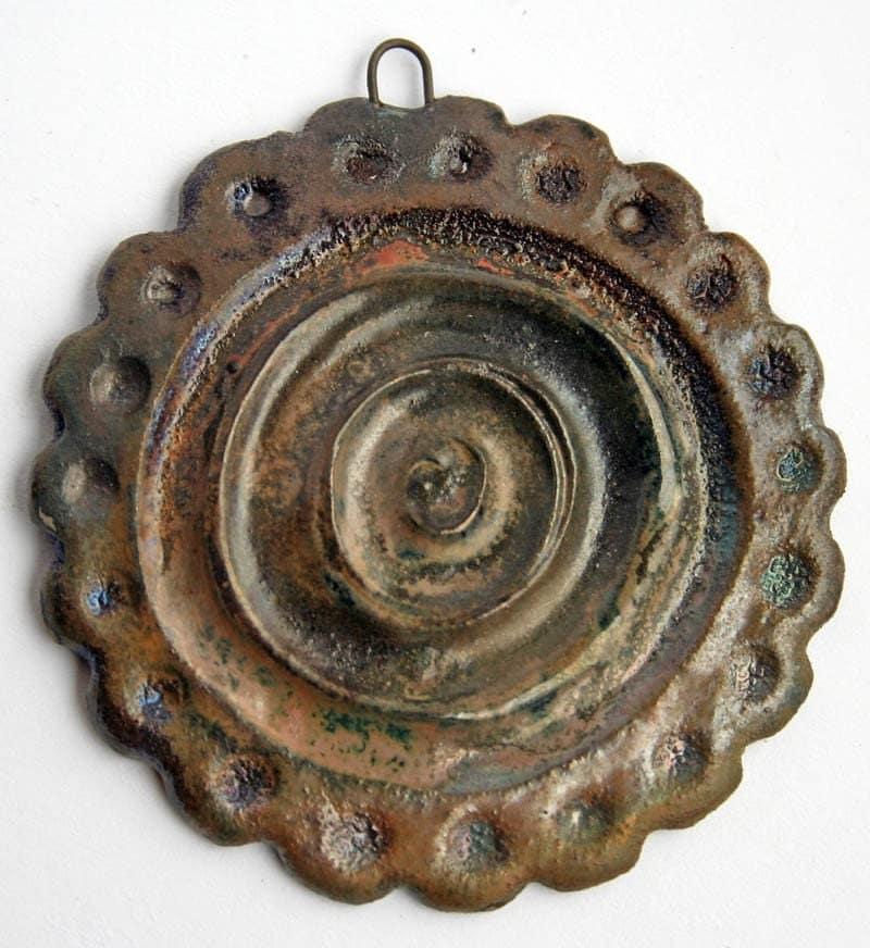 Handmade Raku Pendant