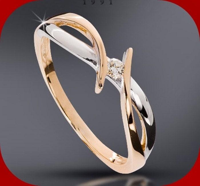 Diamond Engagement Anniversary Ring Made to Order White or WhiteYellow Diamond 006 225 mm HSI