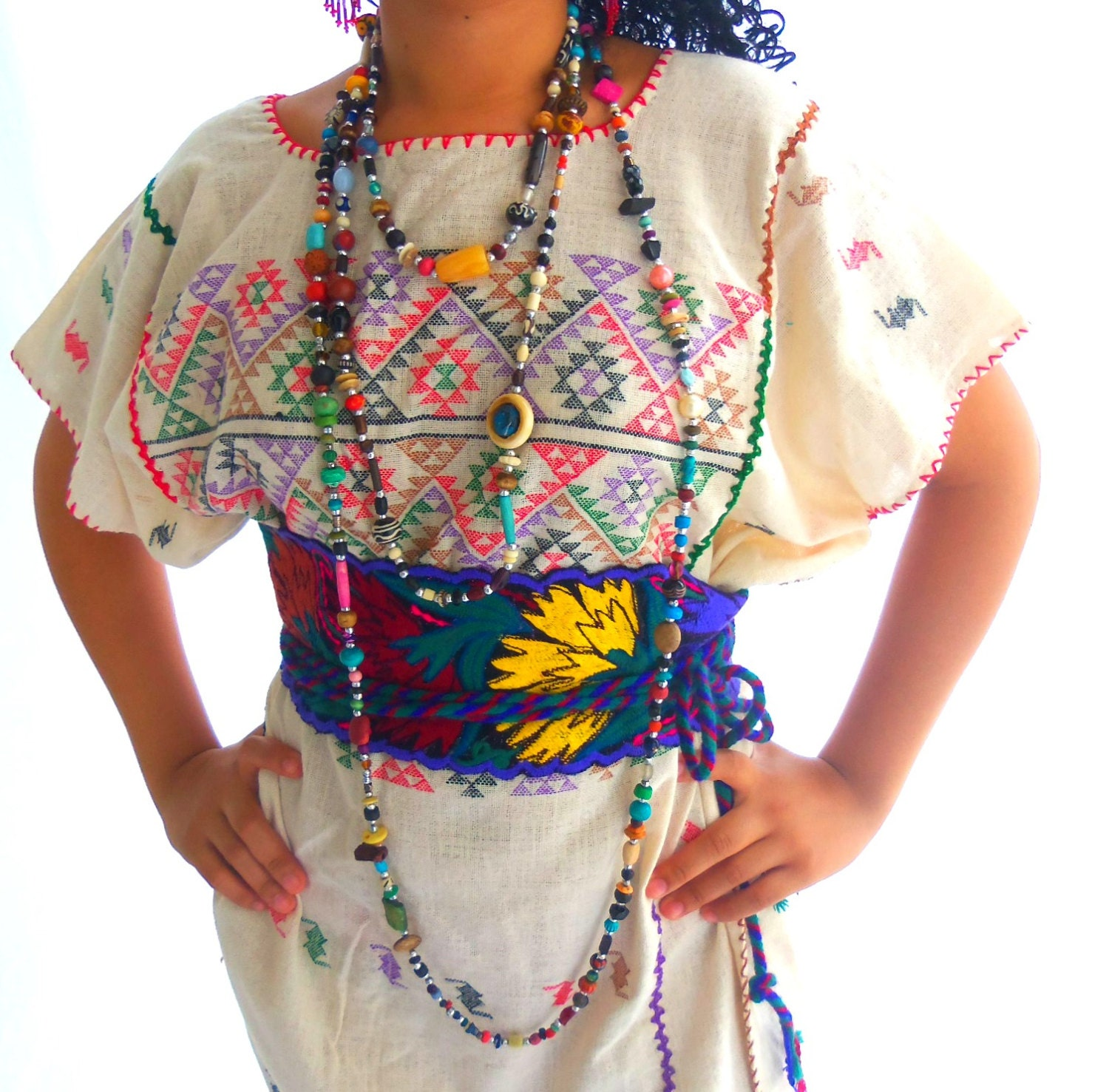 Yolot stunning handmade mexican embroidered by elizabethpalmer