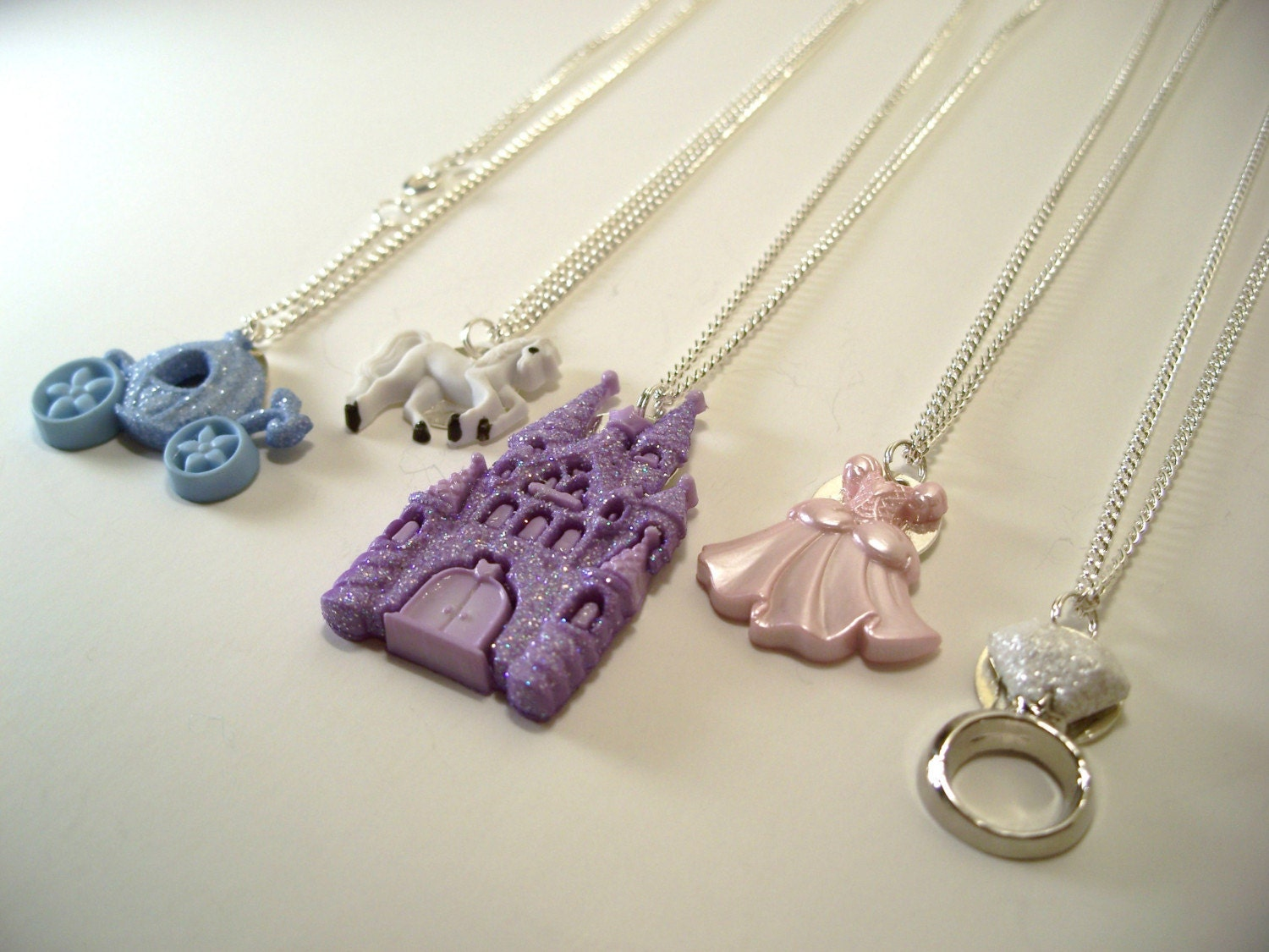 Princess and Cinderella Theme Necklace