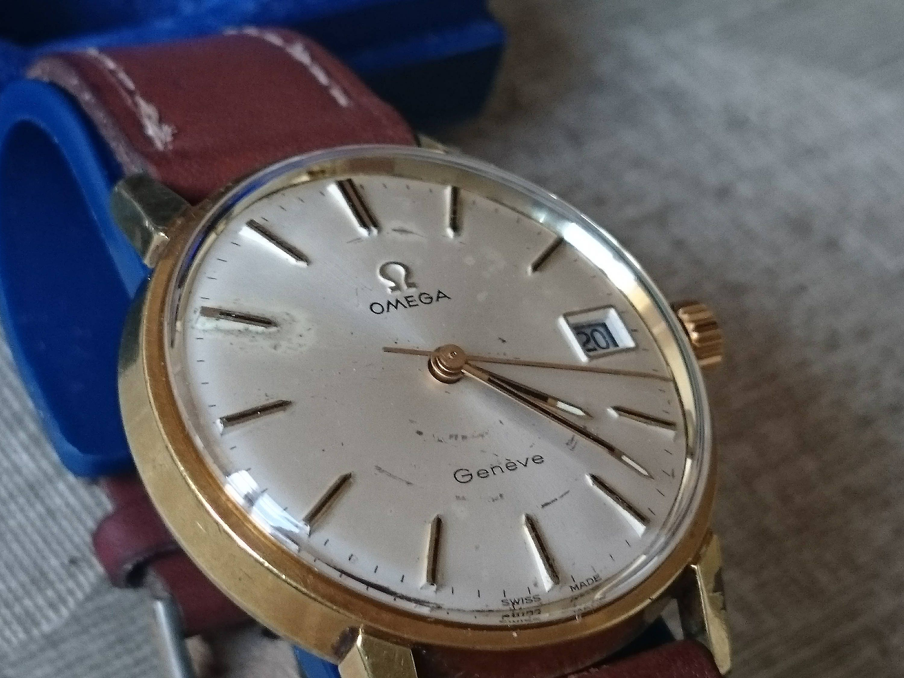 gents Omega Seamaster wrist watch.In Working Order cal 613 in Original Condition