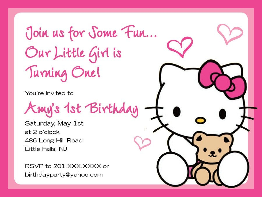 qdr846olek: hello kitty invitations, Invitation templates