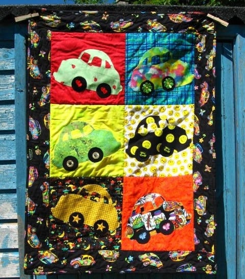 Wallhanging Quilt  Bugsy's Bugs