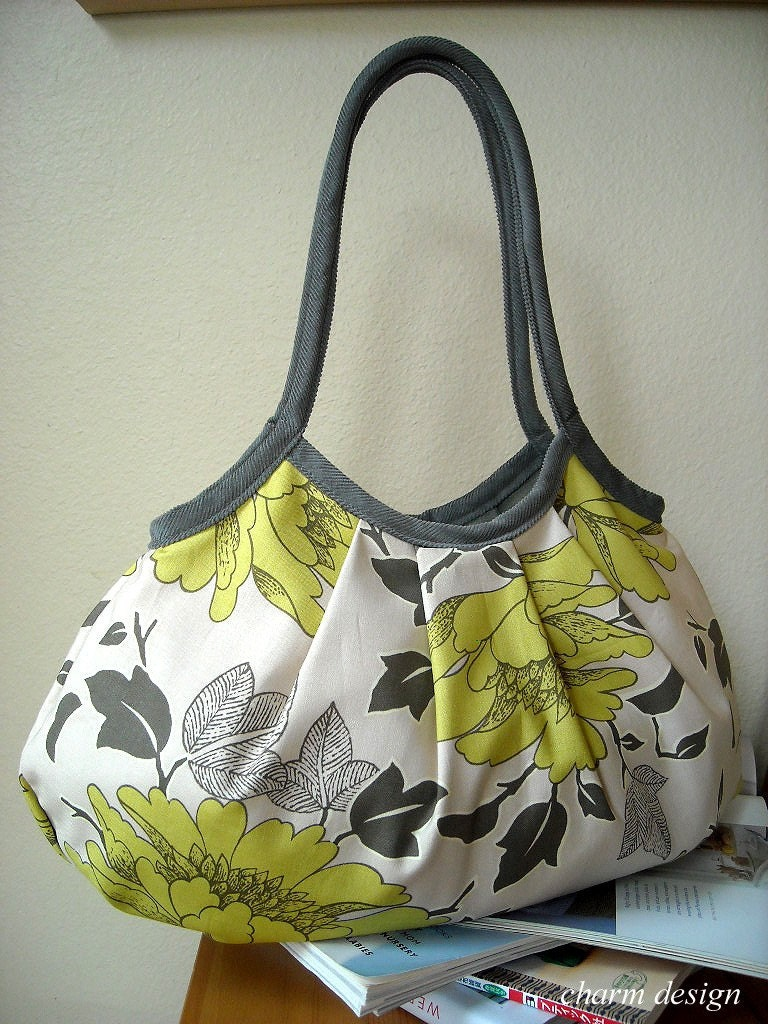 Yellow Flower - Granny Bag
