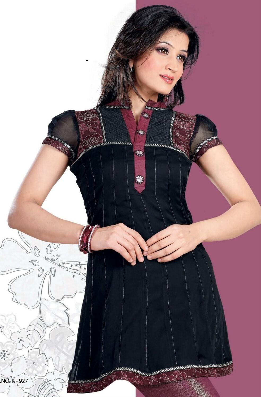 سیاه جرجت خانمها طراحی دکمه با نام تجاری کابین آستین لباس کوتاه / بالا