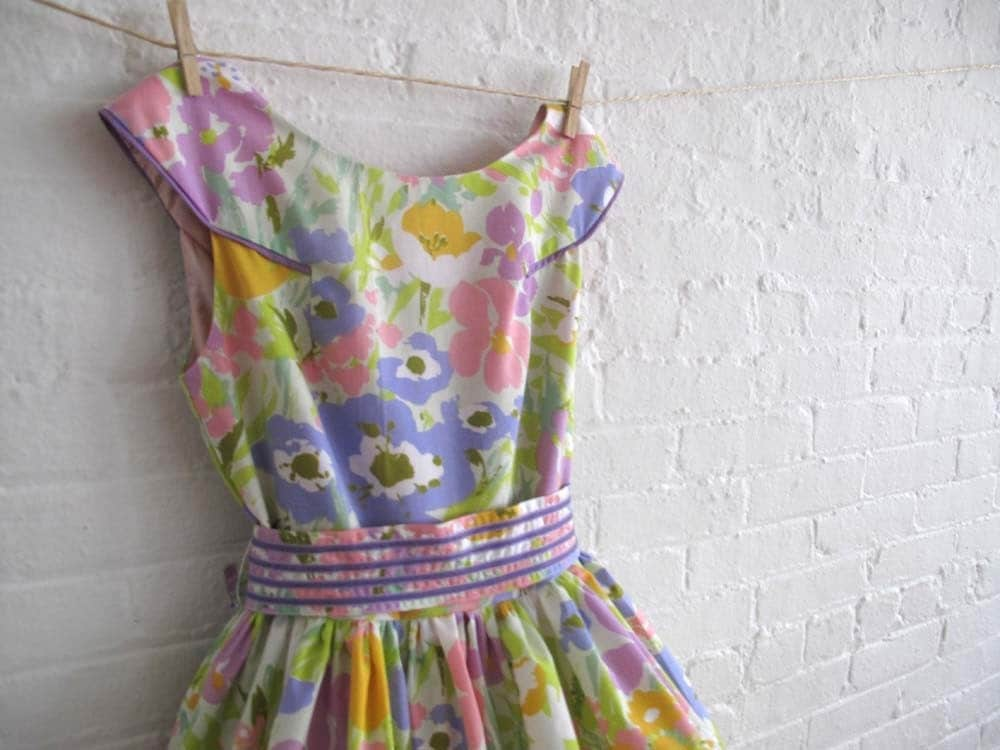 custom tea dress