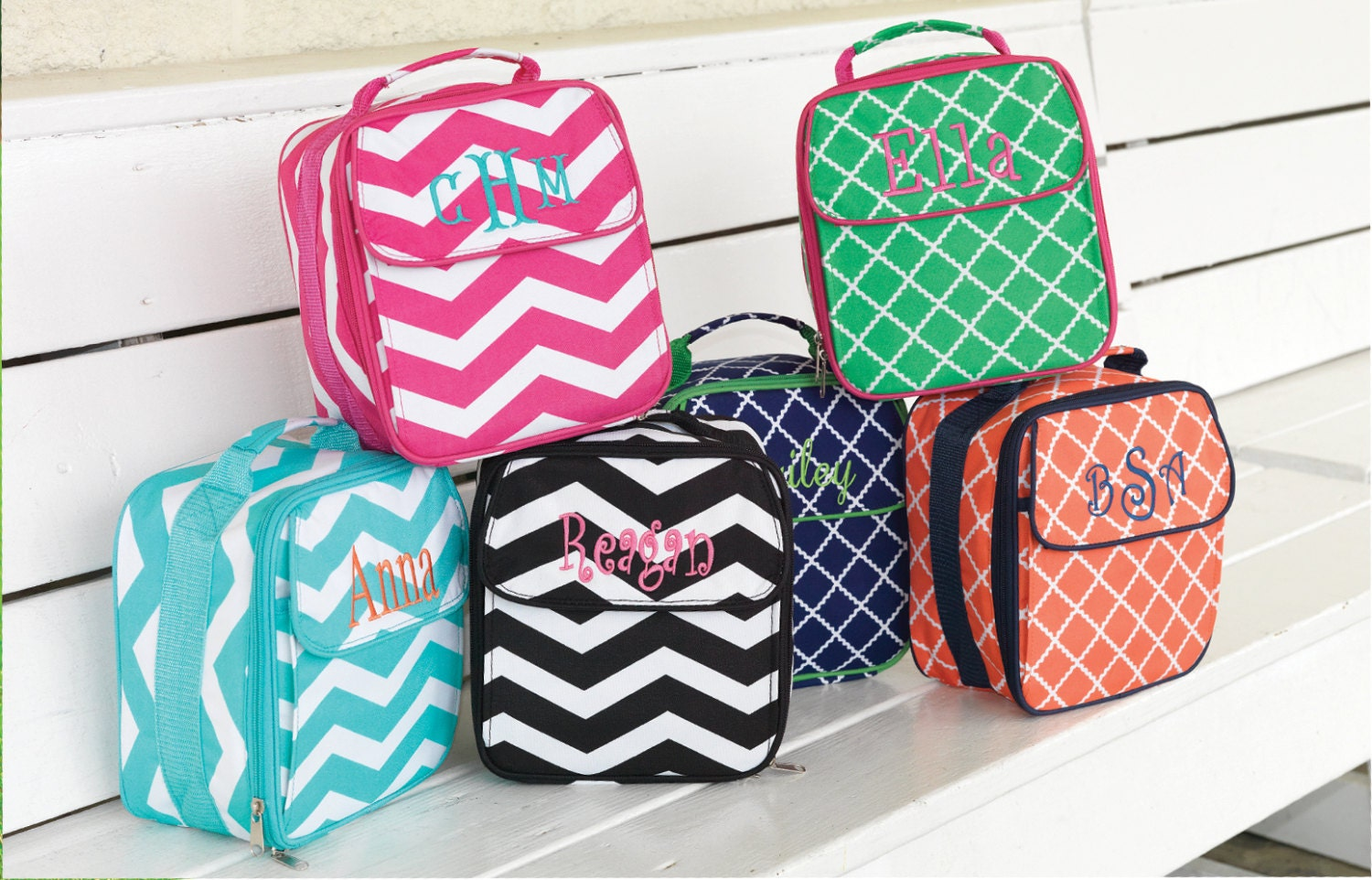 Back to School Personalized Lunchboxes - AllinStitchesTexas