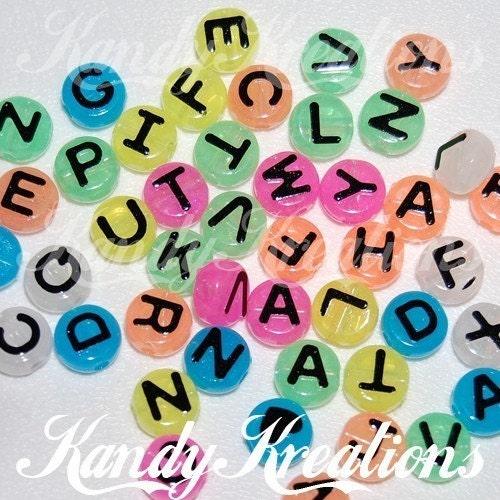 lettering alphabet. lettering Alphabet beads!