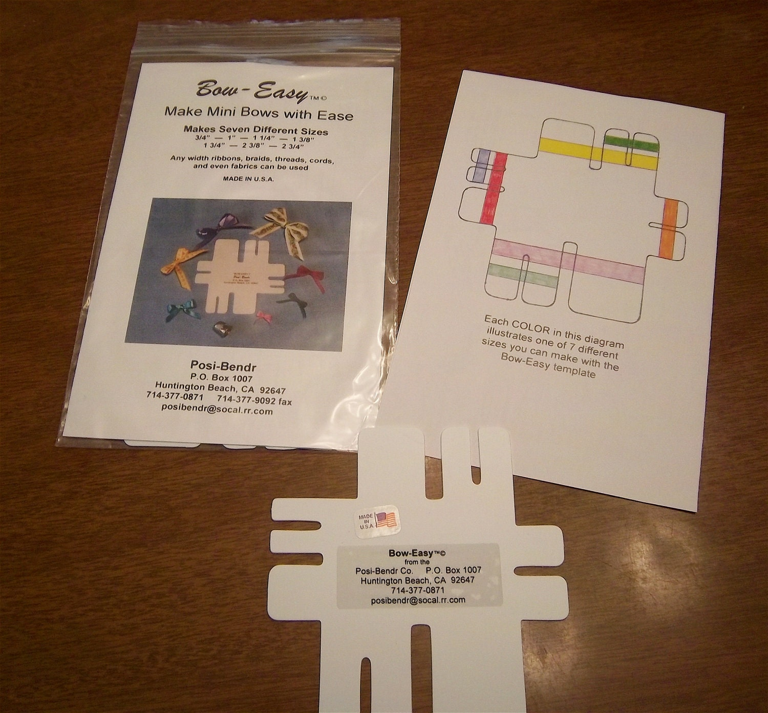 Bow-Easy  Bow Maker For Cards and Crafts
